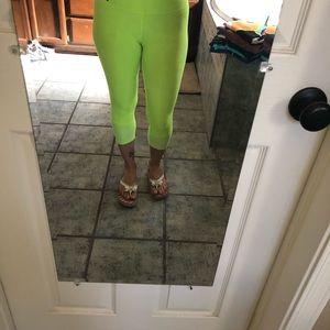Nike Pants - Neon green leggings